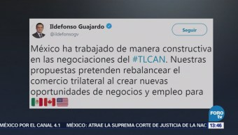 Ildefonso Guajardo rechaza TLCAN que afecte empleos en México