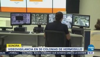 Implementan Videovigilancia Colonias Hermosillo Sonora
