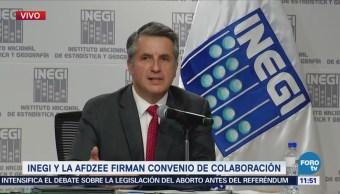 INEGI colaborará en el desarrollo de las zonas económicas de México
