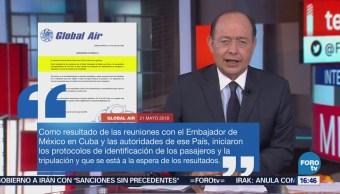 Inicia Identificación Mexicanos Fallecidos Cuba