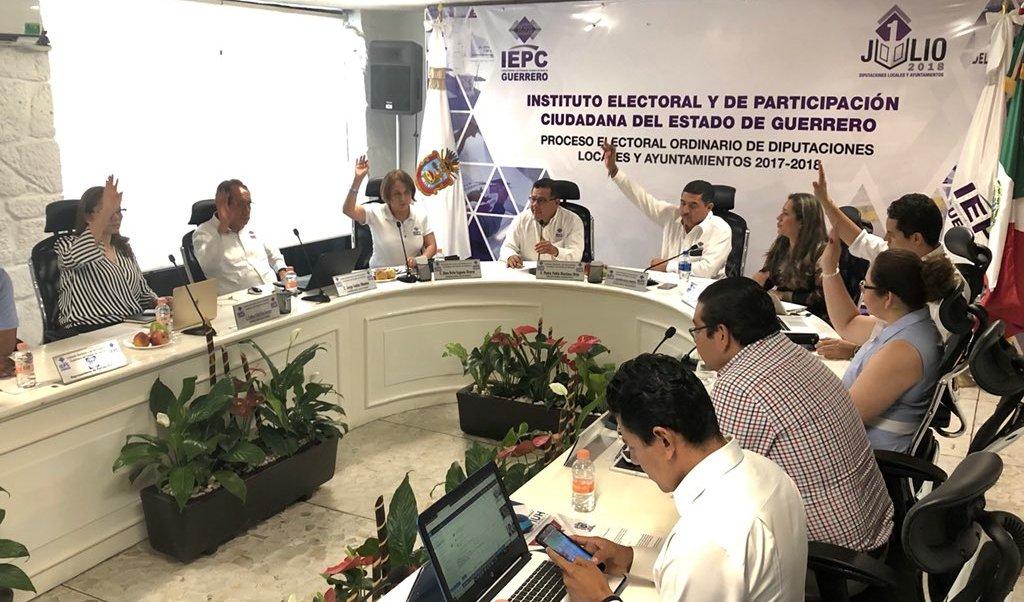 Renuncian 190 candidatos a puestos de elección en Guerrero