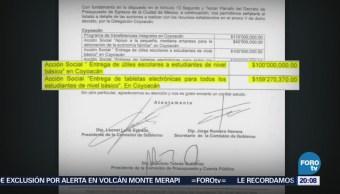 Investigan irregularidades fondo para reconstrucción sismo
