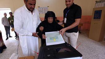 Iraquíes votan en las primeras elecciones tras derrota del Estado Islámico