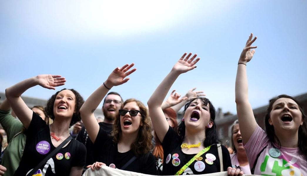 La campaña por el 'no' al aborto en Irlanda admite la derrota