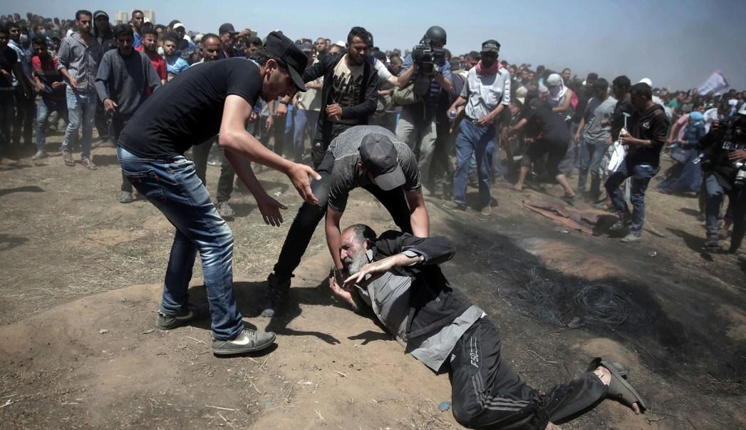 Israelíes matan palestinos mientras era inaugurada embajada Estados Unidos