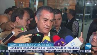 Jaime Rodríguez participa en diálogo por la paz