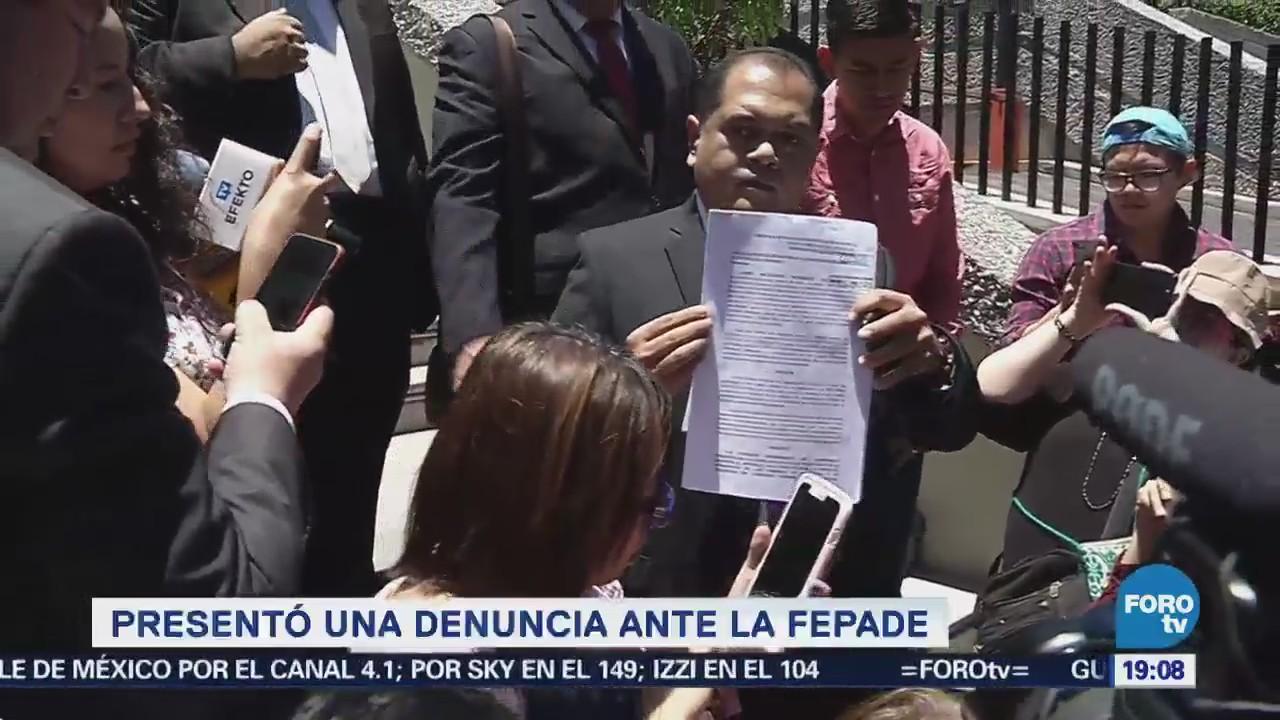 Jaime Rodríguez Presenta Denuncia Penal Ante Fepade