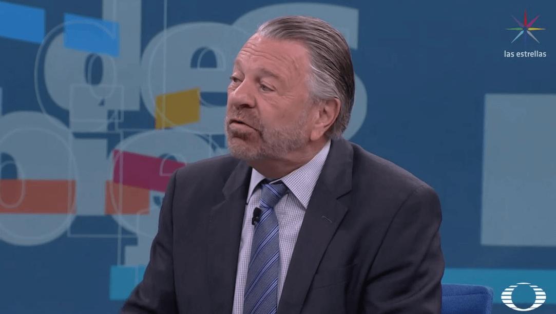 Jorge Castañeda, coordinador de campaña de Ricardo Anaya. (Noticieros Televisa)