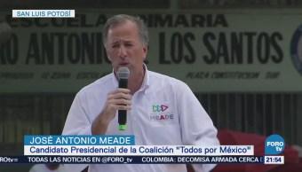 Meade Realizó Gira San Luis Potosí