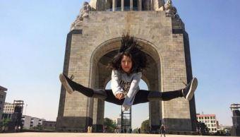 joven mexicana gana mundial parkour hiroshima japon