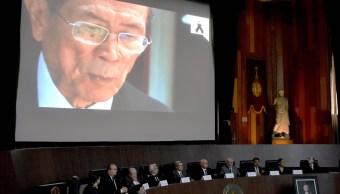 Reconocen trayectoria del doctor Jesús Kumate con homenaje 'in memoriam'