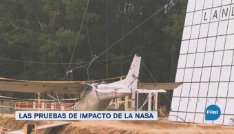 Pruebas Impacto Nasa Aeronaves Vehículos aéreos