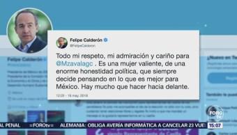 Las reacciones por la declinación de Margarita Zavala