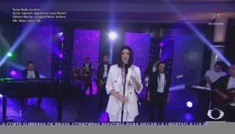 Laura Pausini interpreta 'Nadie ha dicho' en Al Aire