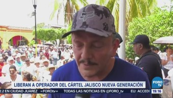 Liberan Presunto Operador Jalisco Nueva Generación