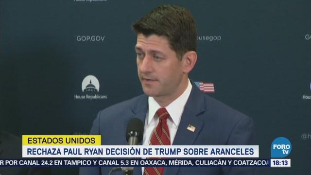 Líder republicano rechaza decisión de Trump
