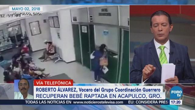 Líneas Investigacón Permitieron Localización Bebé Sustraída Acapulco