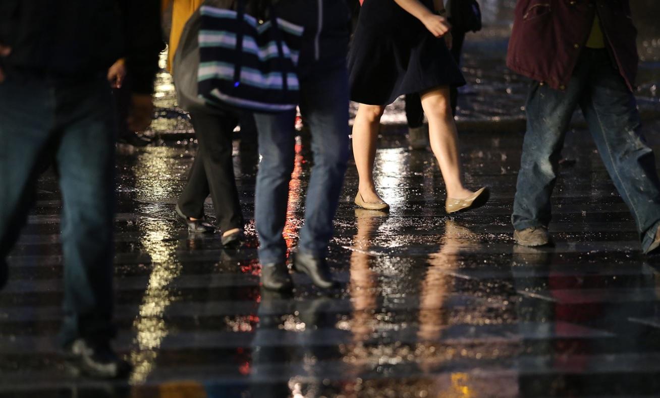 Lluvia ligera de mediodía sorprende en 9 delegaciones de la CDMX