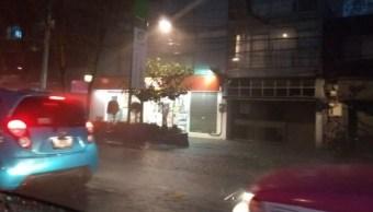 Activan alerta amarilla en la CDMX por lluvias y granizo