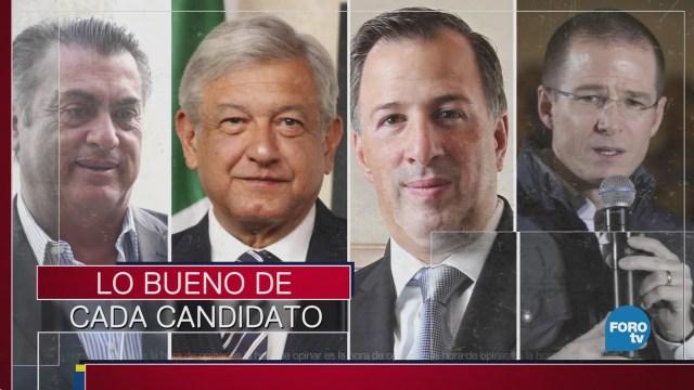 Lo bueno de los candidatos