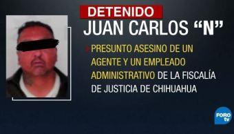 detienen presunto integrante grupo criminal los aztecas ciudad juarez chihuahua