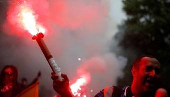 Estalla huelga de sindicatos contra reformas laborales de Macron