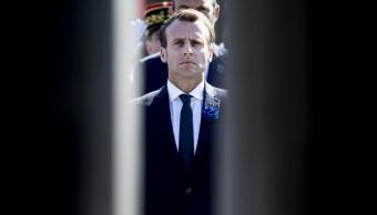 Macron lamenta retirada de EU de acuerdo nuclear con Irán