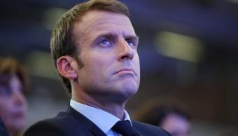 Macron califica ilegales aranceles Estados Unidos