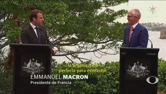 Macron Llama Deliciosa Primera Dama Australia