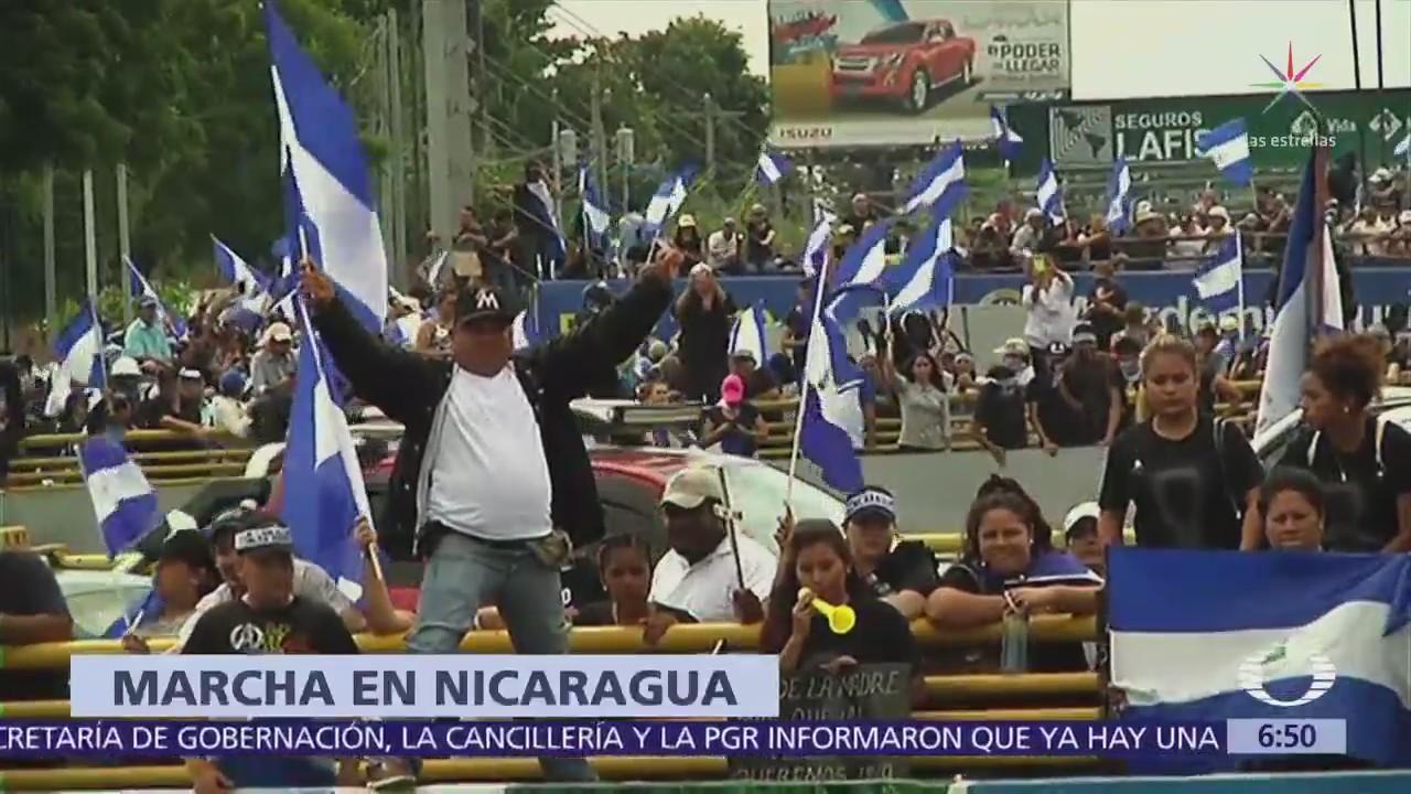 Madres de Nicaragua protestan por muerte de manifestantes