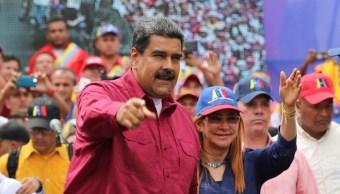 Maduro llama imbécil Santos desconocer elecciones Venezuela
