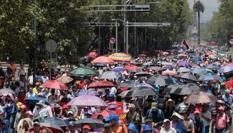 Maestros de la CNTE marchan en Oaxaca Chiapas y Guerrero