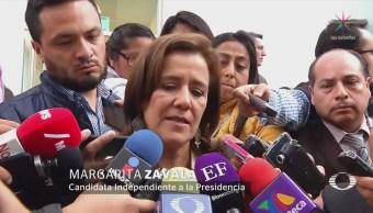 Margarita Zavala Condena Amlo Moleste Desplegado Empresarios