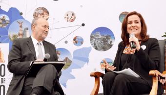 Margarita Zavala reconoce la batalla de los empresarios contra la inseguridad