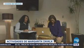 Margarita Zavala Habla Propuestas Culturales