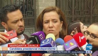 Margarita Zavala reconoce trabajo de empresarios