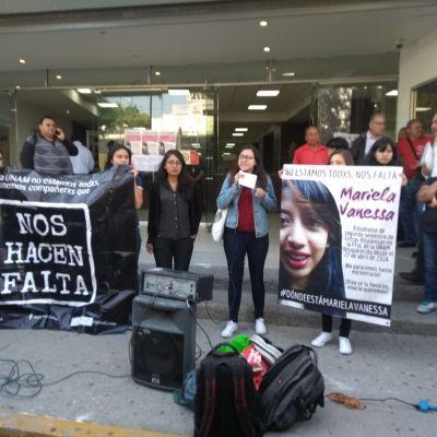 Exigen localizar a estudiante de la UNAM desaparecida desde el 21 de abril