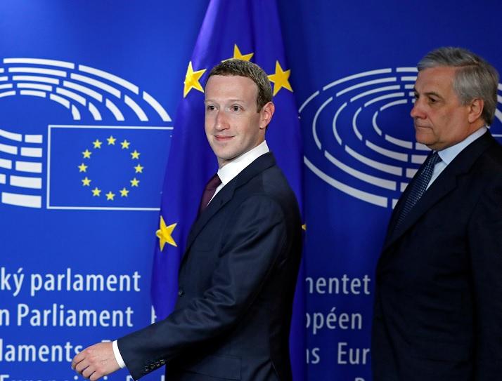 Zuckerberg pide perdón en el Parlamento Europeo