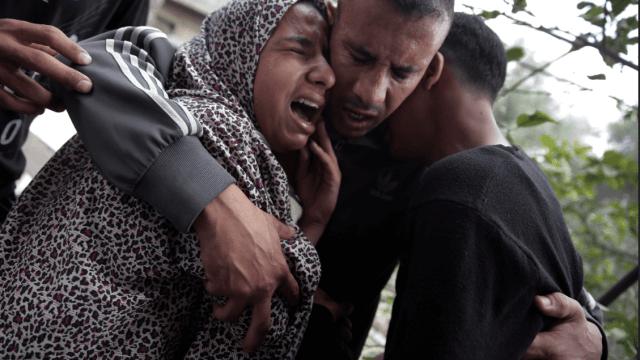Presidente palestino condena actuación israelí en Gaza