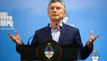 Mauricio Macri da superada crisis cambiaria Argentina