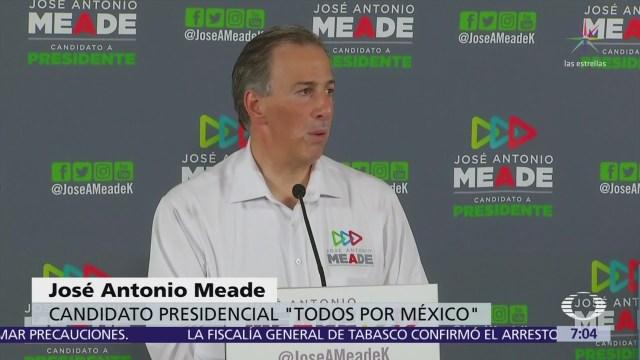 Meade confirma que él decidió la salida de Enrique Ochoa