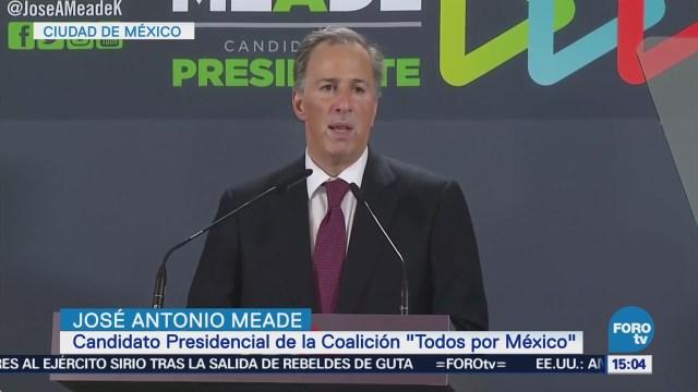 Meade Compromete Incrementar Programa 'Prospera'