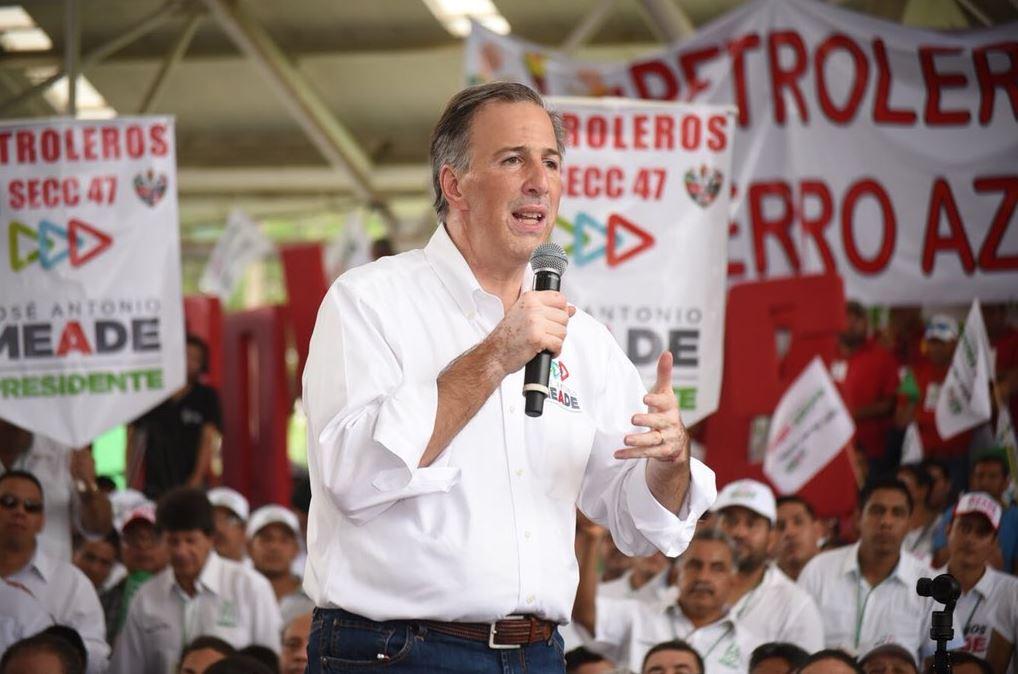 Meade se reúne con trabajadores de Pemex en Poza Rica, Veracruz