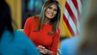 Melania Trump se somete éxito cirugía riñón