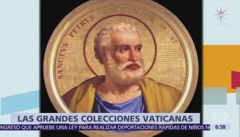 México expone tesoros del Vaticano en San Ildefonso