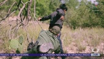 Migrante detenido en Texas tras cruzar la frontera logra huir