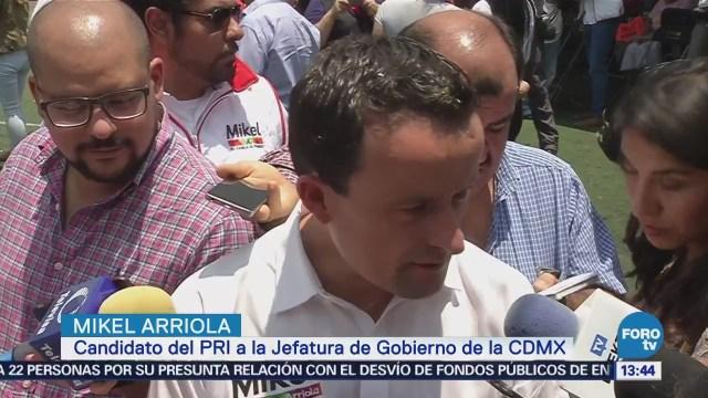 Mikel Arriola pide formar un frente contra Morena
