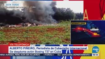 Muere Mujeres Habían Sobrevivido Avionazo Cuba