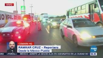 Muere una persona tras intento de asalto en la México-Puebla