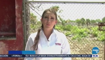 Muestra Predio Presunta Empresa Fantasma Contratada Mérida